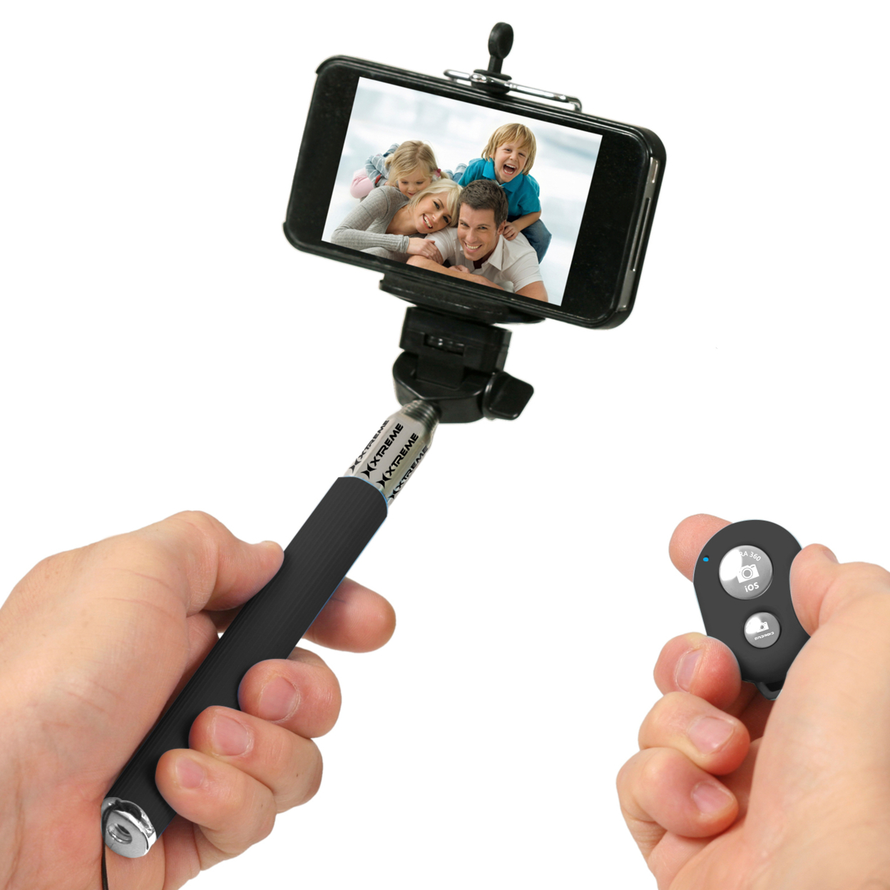 insten handheld bluetooth selfie stick monopod extendable for iphone 6 6 cell. Black Bedroom Furniture Sets. Home Design Ideas