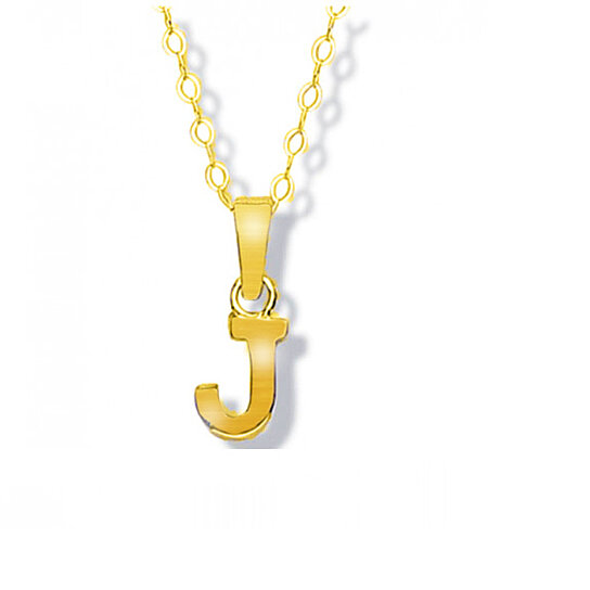 Buy solid 14k yellow gold j initial pendant by yeidid international buy solid 14k yellow gold j initial pendant by yeidid international on opensky aloadofball Image collections