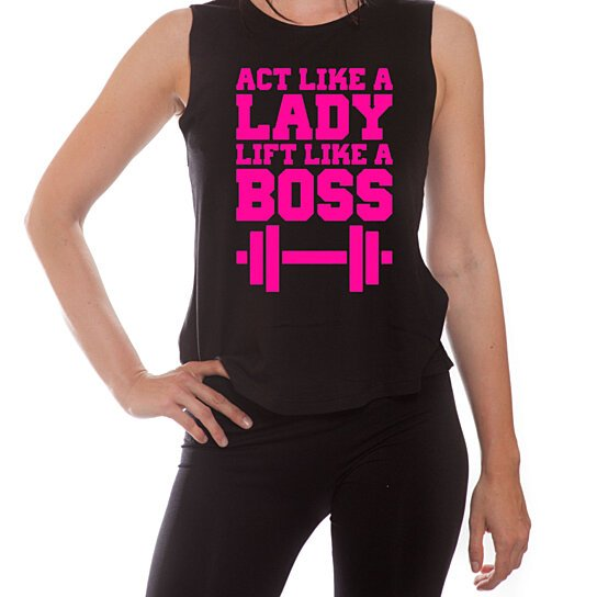 Buy Ym Wear Act Like A Lady Lift Like A Boss Women S