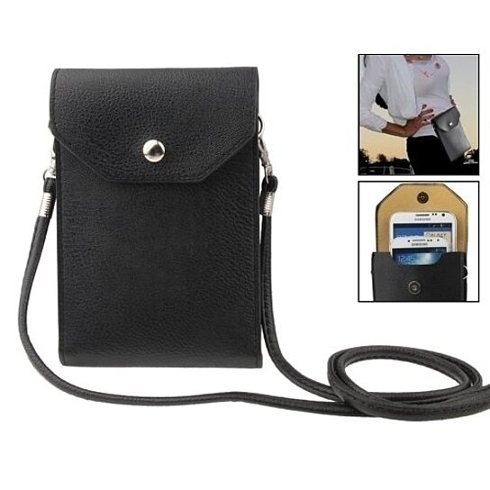 ba81765047c SALE! Faux Leather Small Crossbody Bag Wallet Purse Cellphone Pouch with  Shoulder Strap for Women