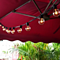 Solar Edison Style Patio LED String Lights