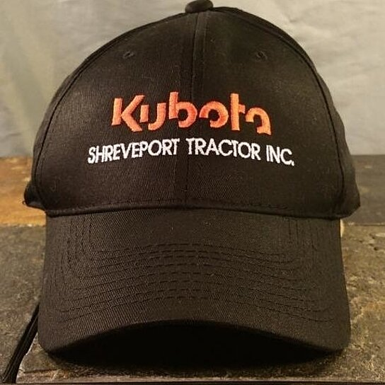 82115dd4 Trending product! This item has been added to cart 65 times in the last 24  hours. Kubota Shreveport Tractor Black Adjustable Baseball Hat / Ball Cap