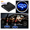 1PC Laser Ghost Shadow Projector Lamp Wireless Car Door Welcome Light Badge for Most Car Color Random