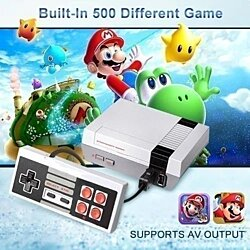 Mini HD Video Game Machine  Classic 600 Games Christmas Gift
