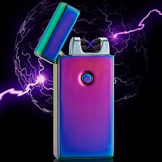Usb Lighters Dual Arc Electronic Lighter Electric Plasma Tesla Coil Rechargeable Cigarette 3 Designs Gift By Yy S On Opensky