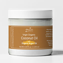 Organic Coconut Butter with Argan Oil - 8 Oz-