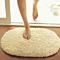 Bathroom Carpets Absorbent Soft Memory Foam Doormat Floor Rugs Oval Non-slip Bath Mats