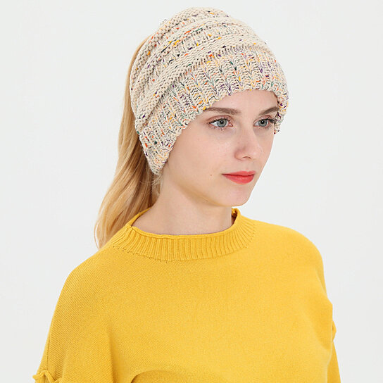 Buy Ladies Baggy Knitted Hat 5961d7a67a8