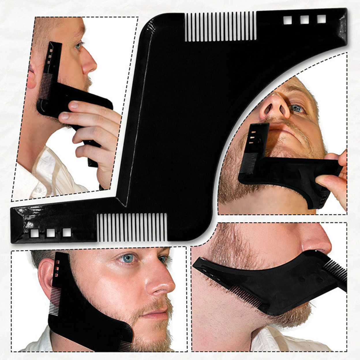 Styling Comb Shaping Tool Mustache Face For Men Gifts Black 59c4be36e2246139b279483c