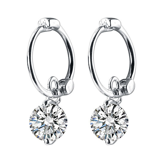 4819547d1d Trending product! This item has been added to cart 69 times in the last 24  hours. Round Stud Earrings 925 Sterling Silver Cuff Earrings ...