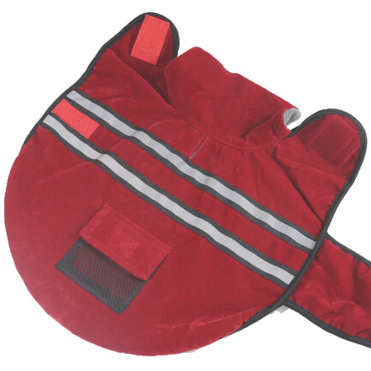 SCT Reflective Dog Jacket Winter Pet Protect Coat Large Red - l 59c4be362a00e458ee098f3e