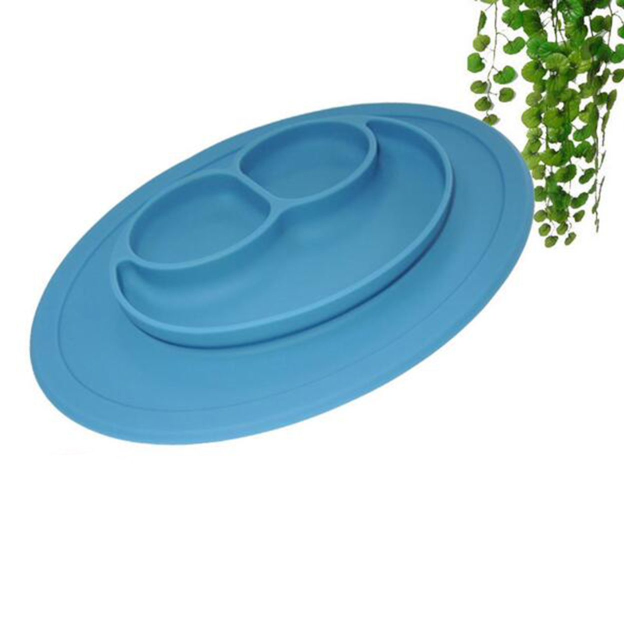 Silicone Mat Baby Kids Child Suction Table Food Tray Placemat Plate Bowls Nice 59c4be3be2246139c869d4d4