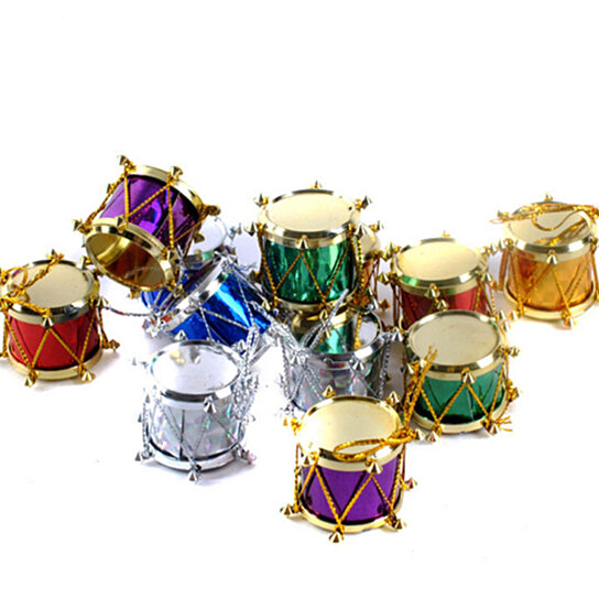 Buy Snare Drum Christmas Ornament Drum Mini Christmas ...