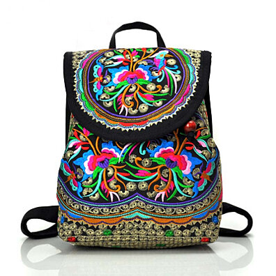 82ed39b4b5e Yunnan Embroidered Small Backpack Exquisite Embroidered Bag